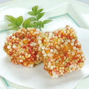 山福)海老芋あられ揚げ 約20gx15個(冷凍食品 弁当 割烹 おつまみ 芋 いも イモ 和惣菜)
