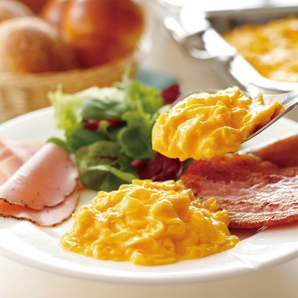 QP)とろっとスクランブル 1kg(冷凍食品 スクランブルエッグ 洋風調理食品 卵料理 卵メニュー 洋食一品 朝食)