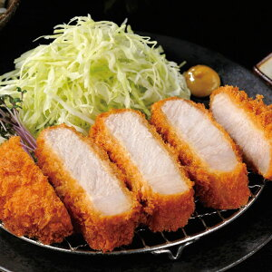 三元豚の厚切り上ロースカツ1.2kg (約200g×6個入) 19121(とんかつ トンカツ メイン 弁当 一品 豚肉 惣菜 洋食)
