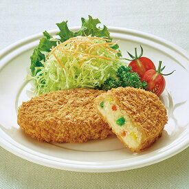 まんぞくコロッケ (野菜) 約100g×12個入 20397(コロッケ ランチ お弁当 揚げ物 洋食)