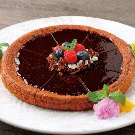 日東ベスト)ホールタルト(チョコレート)375g(9月〜2月)(デザート スイーツ 洋菓子 チョコレート ロールケーキ)