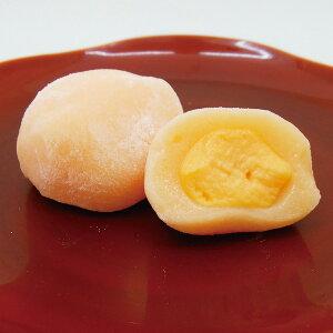 華桔梗)ミニふわ大福メロン240g(12個入)(カフェ デザート スイーツ おやつ だいふく 和菓子 ひとくち 2020年新商品:デザート)