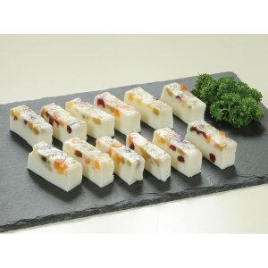 フルーティーチーズ 1本 (約320g) 20585(チーズ ドライフルーツ オードブル 前菜 重詰め 洋食 一品)