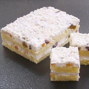 見方)リコッタチーズとドライフルーツのケーキ約330g(デザート リッコタチーズ ドライフルーツ 洋風デザード ケーキ)