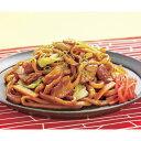 日東ベスト)JG牛ホルモン焼うどん5食250g×5袋入(めん ランチ 軽食 ソース ほるもん 鉄板焼き 2020年新商品:和食一品)