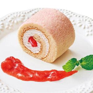 彩ロール 苺みるく210g (カットなし) 20849(デザート ケーキ イチゴ 苺 スイーツ)