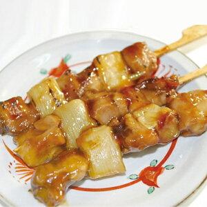 炭火やきとり モモネギ串 (タレ) 1.15kg (50本入) 21574(串焼 串揚 バーベキュー ねぎま 鶏 串 和食 レンジ)