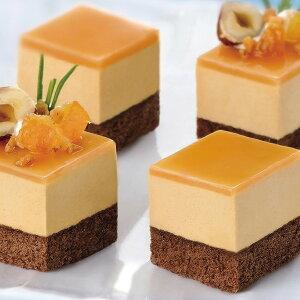 味冷)カット済みケーキ 塩キャラメル367g(4月末〜8月末)(カフェ デザート スイーツ 夏限定)