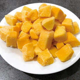 Wismettacフーズ)アップルマンゴー チャンク 500g(芒果 フルーツ トッピング かき氷 デザート イベント フィディング)