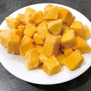 アップルマンゴー チャンク500g 21940(芒果 フルーツ トッピング かき氷 デザート イベント フィディング)