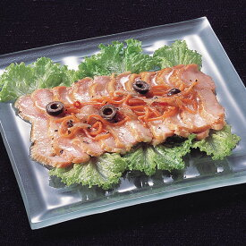 JTフーズ)スモークチキンのマリネ(バジル風味) 1パック260g(冷凍食品 一品 バイキング パーティー 業務用食材 チキン マリネ 洋食 肉料理)