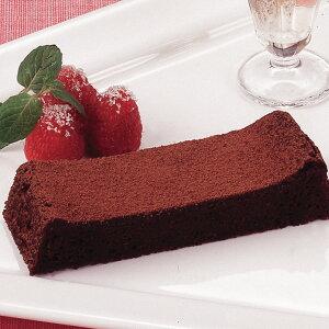 JTフーズ)フリーカットケーキ ガトーショコラ 1本385g(冷凍食品 バイキング パーティー チョコレートケーキ 業務用食材 冷凍 洋菓子 ケーキ)
