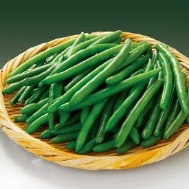 カンタン菜園 すじなしいんげん豆 S 500g 8743(簡単 時短 冷凍野菜 まめ 豆 マメ 業務用)
