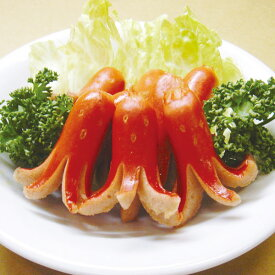 マルハニチロ)タコちゃんウインナー 500g(冷凍食品 タコ ウインナー 洋風調理 洋食 お弁当 肉料理 洋食一品)