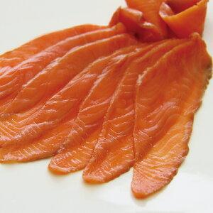 スモークサーモン カット 500g 20831(燻製 サケ 鮭 寿司 ネタ サラダ サーモントラウト)