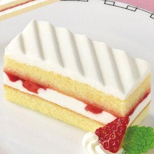 フリーカットケーキ いちごショートケーキ (北海道産生クリーム使用) 375g (カットなし) 21885(デザート ケーキ 北海道産生クリーム 苺 ストロベリー)