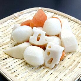 和風野菜ミックス500g 21956(ミックス野菜 里芋 レンコン 人参 タケノコ ゴボウ 蓮根 筍 牛蒡 一口サイズ カット)