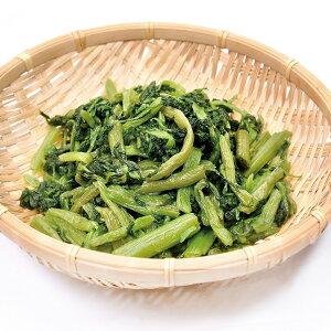 春菊 カット BQF 500g 販売期間 10月-2月(鍋食材 肉・野菜 冷凍 野菜 しゅんぎく)