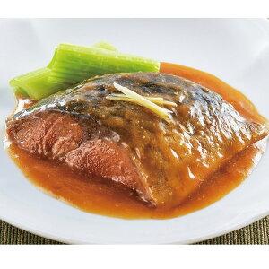 やわらか煮魚 サバ味噌煮 350g (5切入) 22165(にざかな 調理済 切り身 国産 鯖 2021年新商品:和食一品)