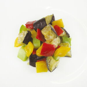 イタリアンミックス 500g 22244(冷凍野菜 赤ピーマン 黄ピーマン 茄子 急速凍結)