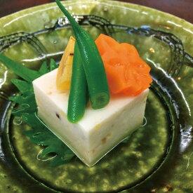 GFC ) 栗入り 胡麻豆腐 550g ( カットなし ) 販売期間 9月-11月(秋食材 和食野菜料理 ごまどうふ 割烹)