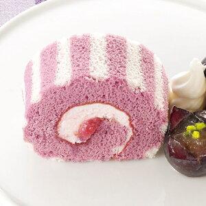 PS ロールケーキ (巨峰) 200g 22988(フリーカット 葡萄 きょほう ぶどう スィーツ ロールケーキ 洋菓子 巨峰 ヨーグルト 洋風デザート)