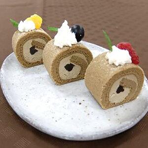和ロール ほうじ茶 ソイラテ 210g (カットなし) 607498(ケーキ ロールケーキ 洋菓子 ほうじ茶 豆乳 和風デザート)