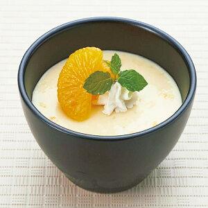 温州みかんプリン 1kg 23278 販売期間9月-2月( さのう 爽やか 口当たり 珍しい 柑橘系 デザート)