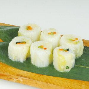 白菜ロールカット 約50g×10個入 23302 販売期間 10月-2月(冷凍 季節 はくさい 冷凍のまま 鍋に入れるだけ 手間いらず お手軽 時短 見栄え 鍋食材:肉・野菜)
