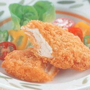 ササミチーズカツ 1kg (10個入) 36777(鶏 柔らか カマンベールチーズ ボリューム フライ 揚げ物 あげもの カツ 洋食肉類 洋食カツ とんかつ)