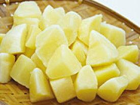 輸入)ジャガイモ乱切り1kg 1個10〜15g(冷凍食品 ポテト じゃがいも ポテトフライ)
