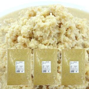 冷凍 おろし生姜 1kg×3 タイ産[主治医が見つかる診療所 免疫力アップ食材 生姜 しょうが おろししょうが おろし生姜] 一次加工品