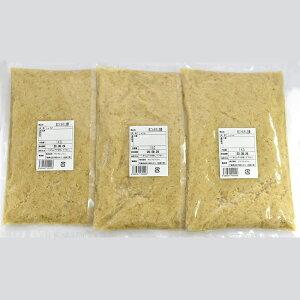 冷凍 皮ごとおろし生姜 1kg×3パック 高知県産[おろししょうが おろし生姜 皮付き 生姜専門店] 一次加工品