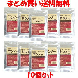 ツルシマ ヤンノー 深煎り小豆の粉 国産 小豆 ポリフェノール チャック袋入 100g×10個セットまとめ買い送料無料