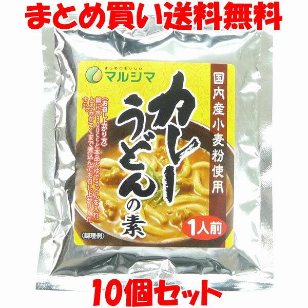 マルシマ カレーうどんの素 粉末 35g×10個セット【メール便送料無料】
