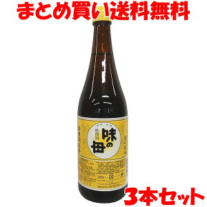 味の一醸造 味の母 みりん 味醂 発酵調味料 みりん風調味料 一升瓶 1.8L×3本セットまとめ買い送料無料