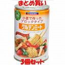グルテンミート(大) 小麦たんぱく食品 缶詰 三育 430g×3個セット まとめ買い