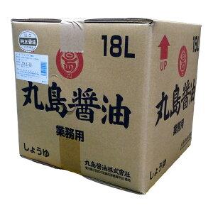 醤油 丸島醤油純正醤油 <淡口> 業務用 お得 18L