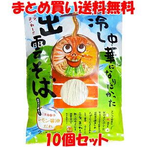 蕎麦 生麺 冷やし中華になりたかった出雲そば 2食(100g×2)×10個セットまとめ買い送料無料