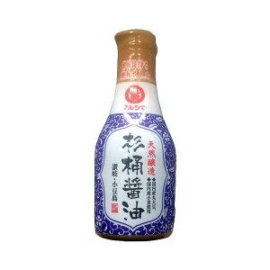しょう油 マルシマ 天然醸造 杉桶醤油 デラミボトル 200ml