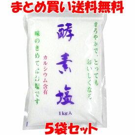 万能 酵素塩(こうそえん) 1kg×5袋セットまとめ買い送料無料