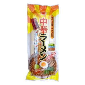 健康フーズ 中華ラーメン (スープ 香味油付き) 3人前(めん70gx3)