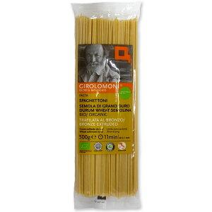 ジロロモーニ デュラム小麦有機スパゲットーニ 2.1mm 500g