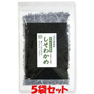 ソフトふりかけ しそわかめ マルシマ 40g×5袋セットゆうパケット送料無料 ※代引・包装不可 ポイント消化