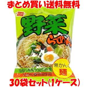 野菜らーめん ラーメン らー麺 インスタント 健康フーズ 100g×30袋(1ケース) まとめ買い送料無料