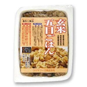 玄米五目ごはん レトルト コジマフーズ 160g