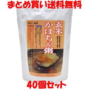 コジマフーズ 玄米かぼちゃ粥 レトルト 200g×40個セットまとめ買い送料無料