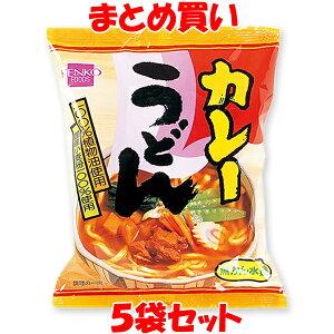 健康フーズ カレーうどん 即席麺 1袋(めん90g)×5袋セット まとめ買い