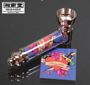 タバコパイプ TATTOO ROSE/BLUE