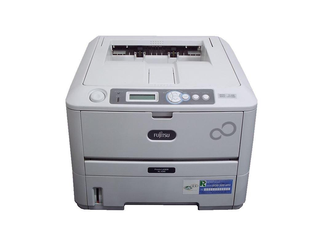 富士通 XL-4280 A4レーザープリンタ 使用枚数約5枚 【中古】